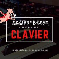 Agathe Ze Bouse cherche clavier