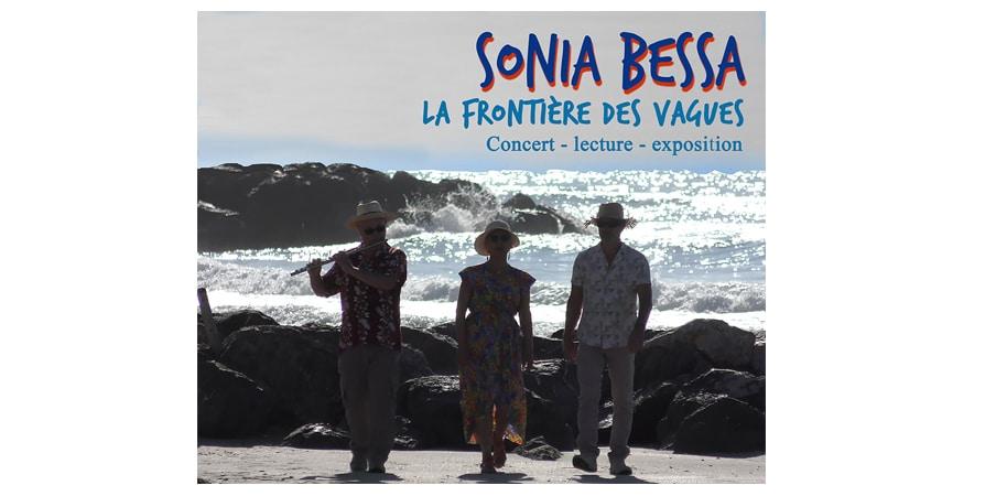 La Frontière des vagues - Sonia Bessa